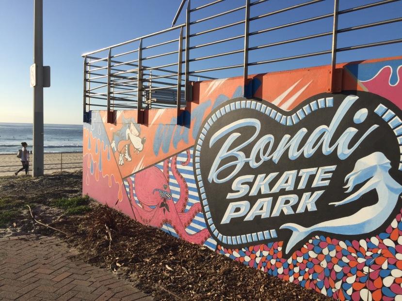 Bondi Skate ParkMural