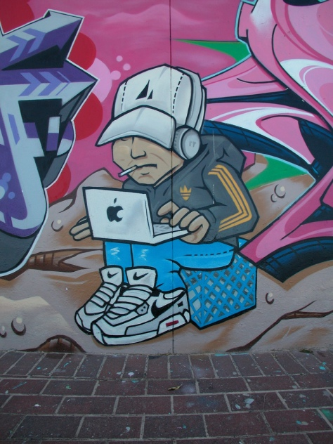 2007 - Macbook and Milkcrate detail - Teazer
