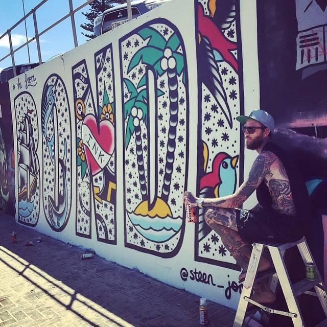 2015 - Hi from Bondi - Steen Jones - Artist