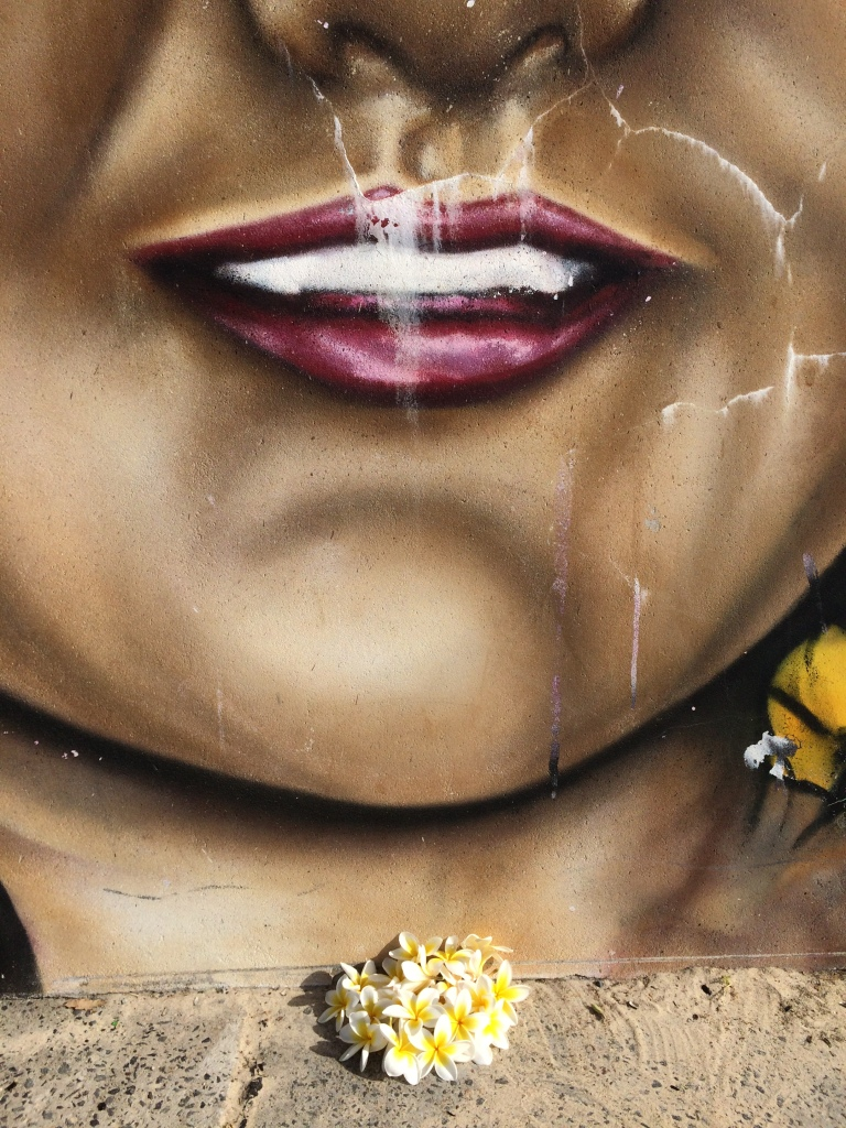 2016 - News - Girl with Frangipani - Droogie - Detail