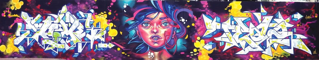 Bondi Beach Graffiti Wall