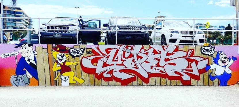 2017 in Review – Bondi Beach GraffitiWall