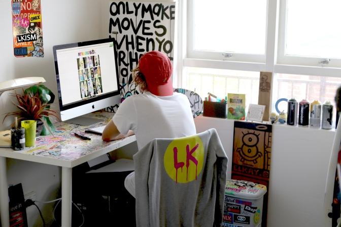 My Name is LK - Luke Kennedy - in Studio