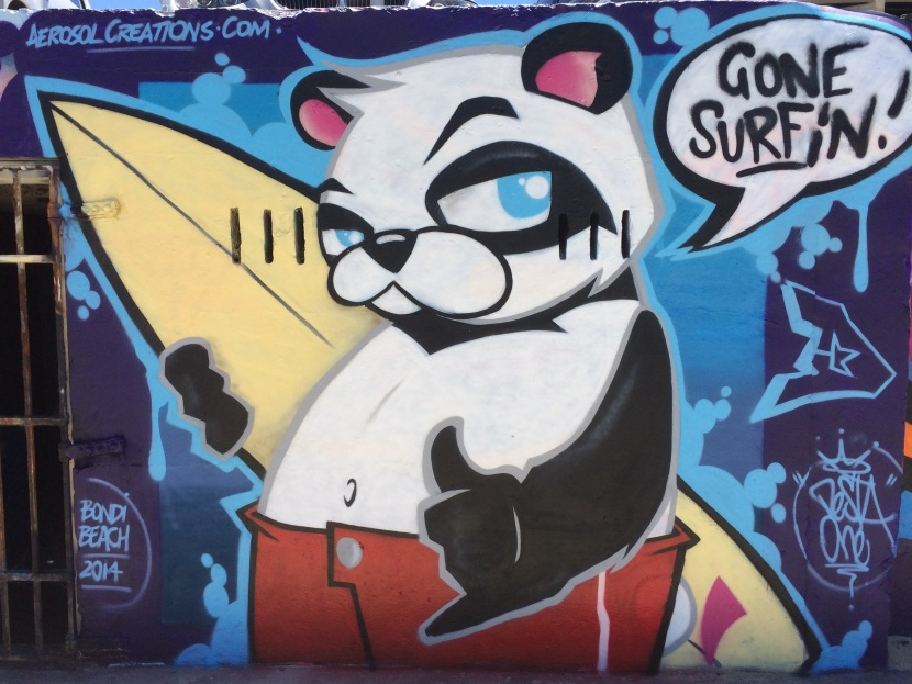 2014 – SurfPanda Gone Surfin!