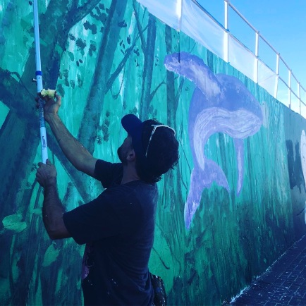 2017 - Makatron - Sydney City Whale in progress