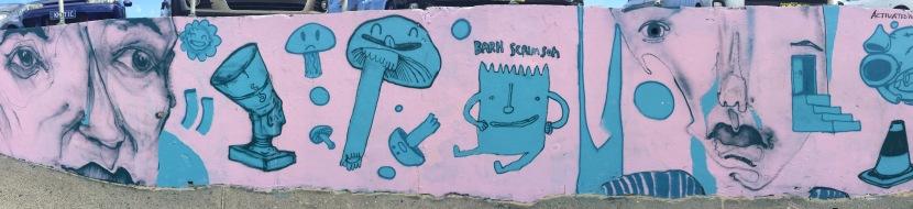 2017 – Activated Walls' PinkFrieze