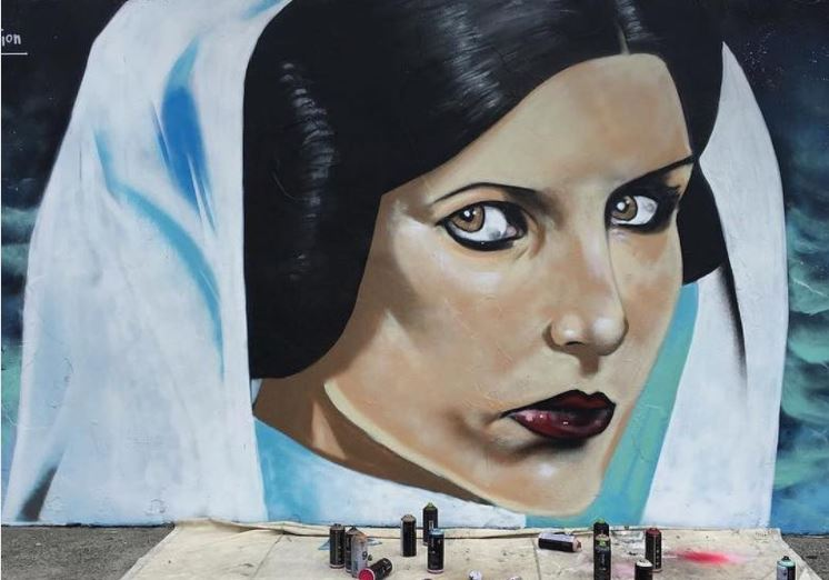 A New Hope – Shannon Boyd's painting of CarrieFisher