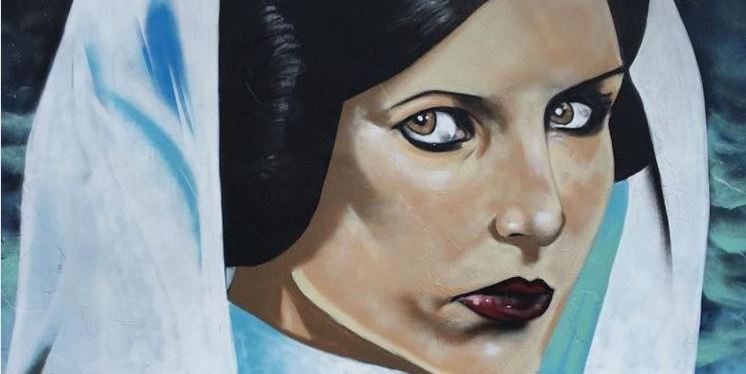 A New Hope – Shannon Boyd's painting of Carrie Fisher