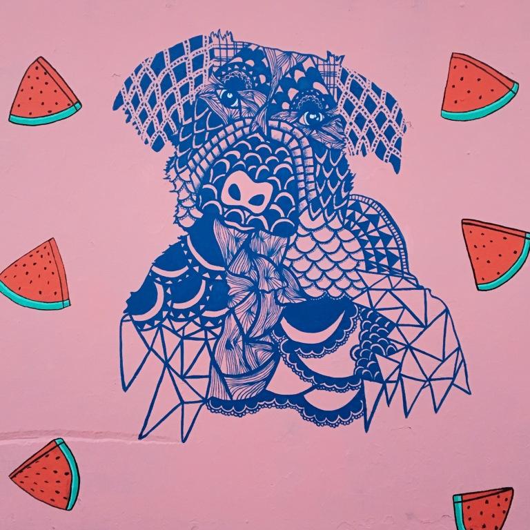 2017 - Charliieeyy - Watermelon Dog - Detail