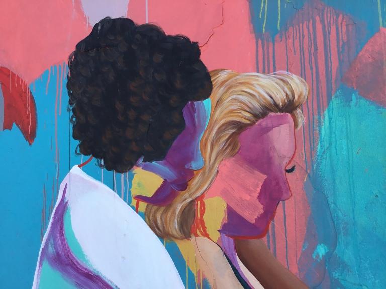 2017 - Kim Leutwyler - Bec and Isa - detail