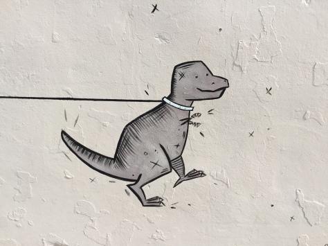2017 - Katie Shriner - Walking Rex - Dinosaur Detail