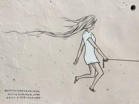 2017 - Katie Shriner - Walking Rex - Girl Detail