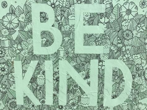 2017 - Amy Peel - Be Kind - Close