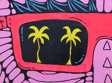 2017 - Mulga the Artist - Bermuda Bobby King of the Beach - Detail