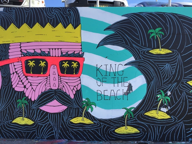 2017 - Mulga the Artist - Bermuda Bobby King of the Beach