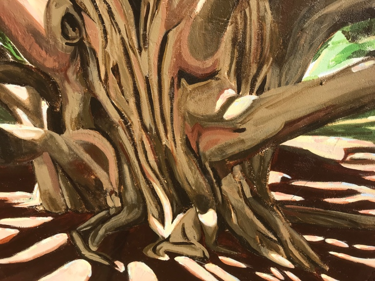 2017 - Margherita Sanguineti - Moreton Bay Fig Tree - Detail 2