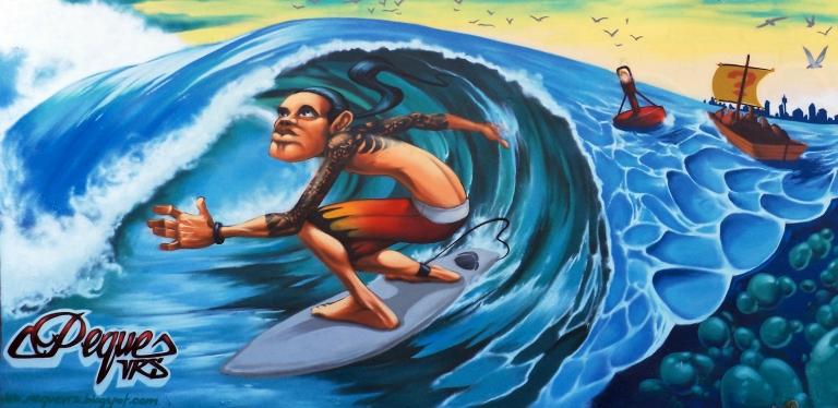 2013 - Peque Vrs - Surfing Nemo - Surfer Detail