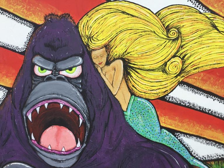 2018 - Art My Ozone - Gorilla Panic - Detail 1