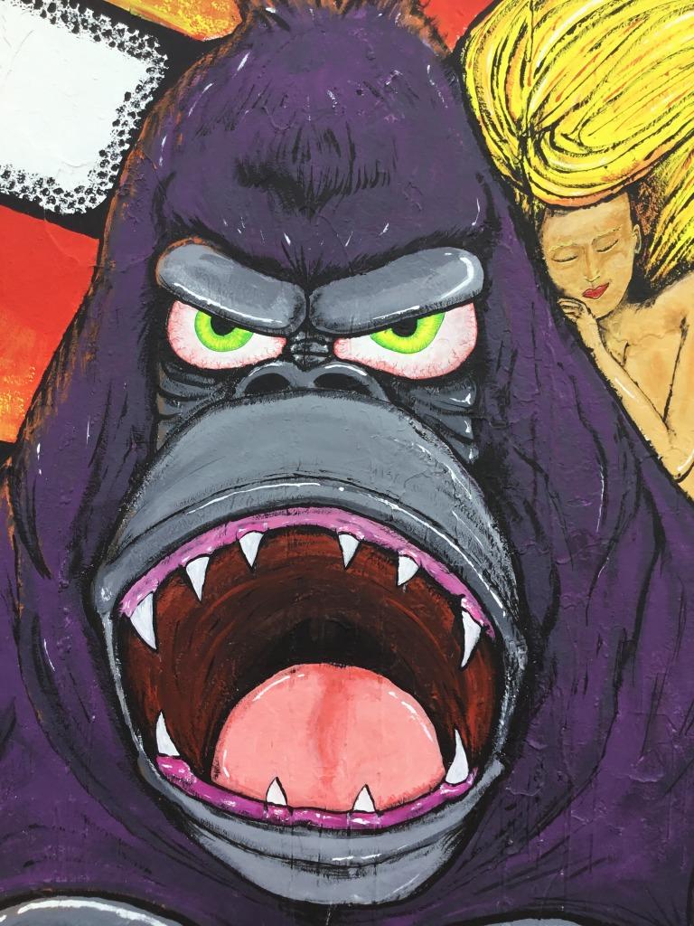 2018 - Art My Ozone - Gorilla Panic - Face