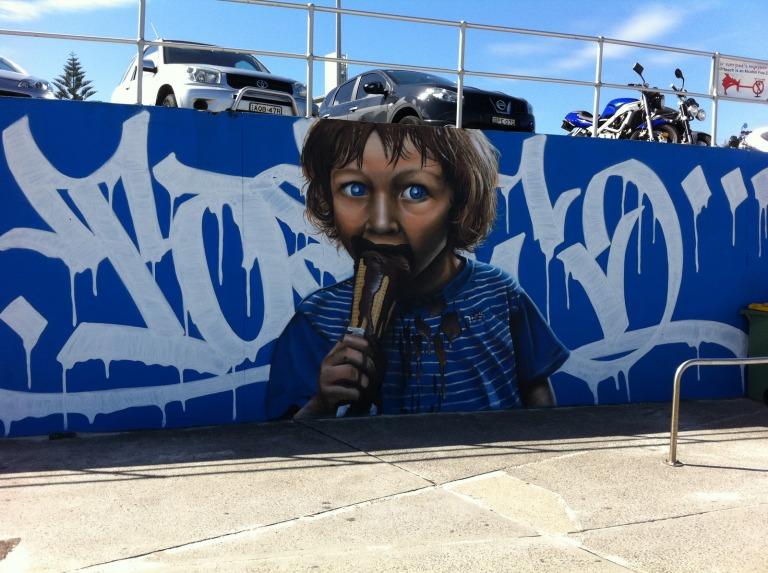 2010 - Unknown Artist - Boy Eating Ice-Cream