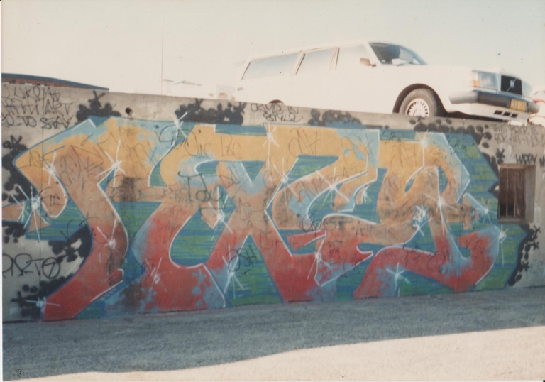 80s Graffiti - Bondi Beach Graffiti Wall - 1