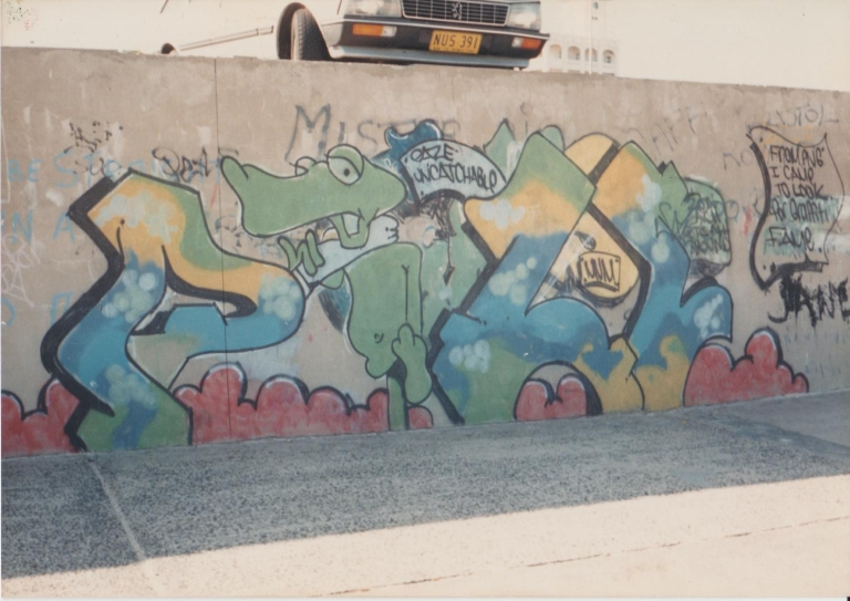 80s Graffiti - Bondi Beach Graffiti Wall - 2