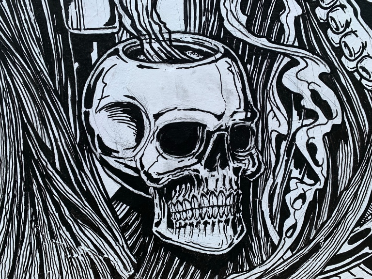 2020 - The Captain - Bound By Sea - Skull Pipe Detail