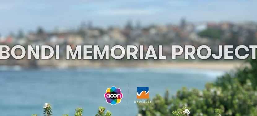 The Bondi Memorial Public Artwork: Community Consultation opens 3 June2020